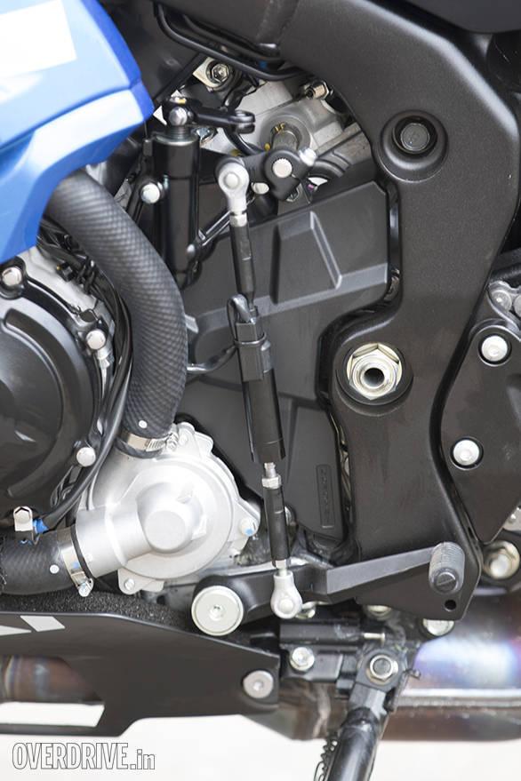 2017 Suzuki GSX-R1000R quickshifter