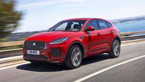 2018 Jaguar E-Pace unveiled in the UK