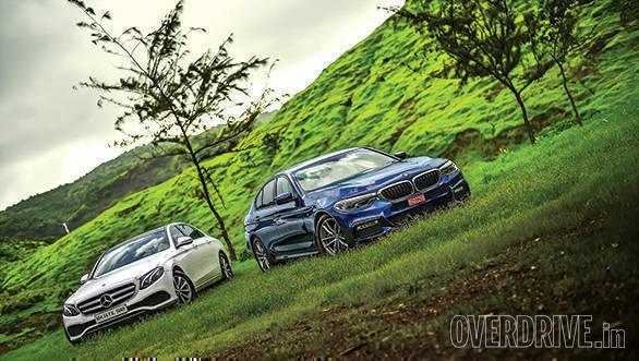 BMW 530D vs Mercedes-Benz E350D (7)
