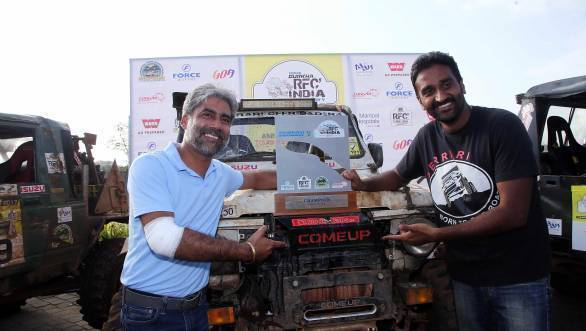 Second RFC India win in a row for Gerrari Offroaders' Gurmeet Virdi and Kirpal Singh Tung