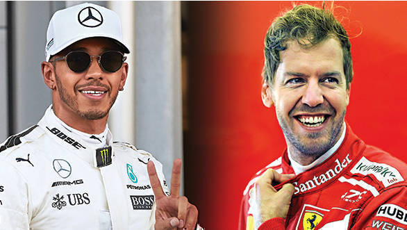 The battle for the championship title is currently between Lewis Hamilton and Sebastian Vettel. One point separates the two ahead of the Hungarian GP.