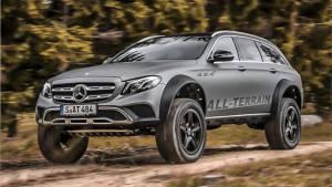 Mercedes-Benz E-Class All Terrain 4x4 SUV concept unveiled