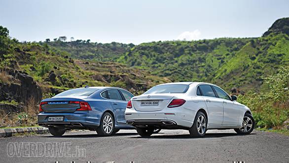 Mercedes-Benz E220d vs Volvo S90 (1)