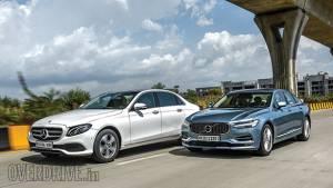 Comparison: Mercedes-Benz E220d vs Volvo S90