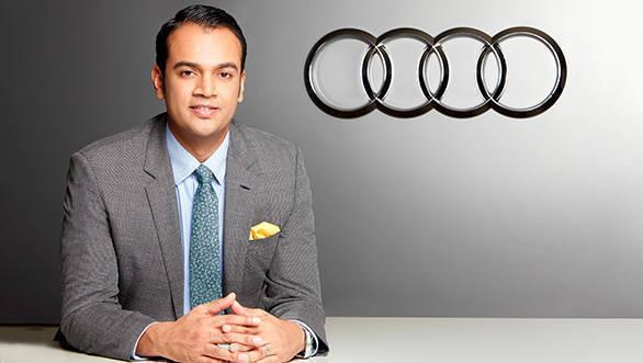 Mr. Rahil Ansari, Head, Audi India
