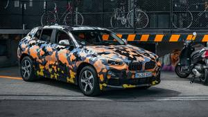 2018 BMW X2 crossover teased in camouflaged form