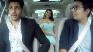 Caraoke drive with Sidharth Malhotra and Jacqueline Fernandez