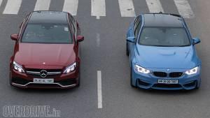 Comparison: BMW M3 vs Mercedes-AMG C 63 S