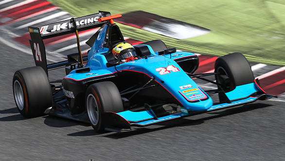 Maini's 2017 season in the GP3 Series got off to an excellent start, with victory in the sprint race at Catalunya