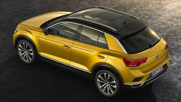 The roof is designed such that the roof-line imparts a coupe-like silhouette to the car and is available in colours contrasting to that of the body's. It also features an all-glass panoramic sunroof as an option