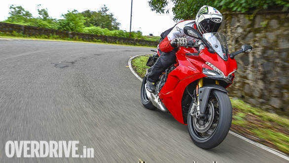 2017 Ducati SuperSport S first ride review