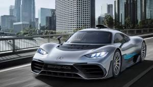 2017 Frankfurt Motor Show: Mercedes-AMG Project One first look