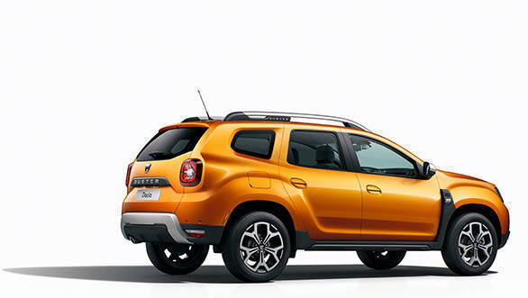 2018 Renault Dacia Duster Studio rear 3/4