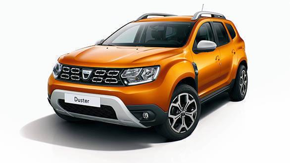2018 Renault Dacia Duster Studio front 3/4