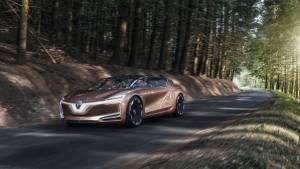 2017 Frankfurt Motor Show: Renault Symbioz autonomous EV concept car has French Kiss mode