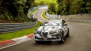 Alfa Romeo Stelvio Quadrifoglio is now fastest SUV around Nurburgring circuit