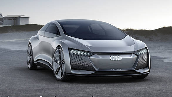 Audi Aicon Concept from 2017 Frankfurt Motor Show