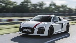 2017 Frankfurt Motor Show: Audi R8 V10 RWS with rear-wheel drive unveiled