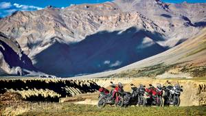 Comparison: Ducati Multistrada 1200S vs Triumph Tiger Explorer XCA vs Triumph Tiger 800 XCA vs Honda Africa Twin