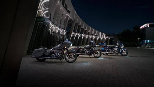 2018 Harley-Davidson CVO and Touring models