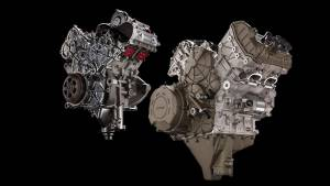 Ducati Desmosedici Stradale V4 engine unveiled