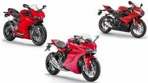 Ducati Supersport vs Triumph Daytona 675R vs Ducati 959 Panigale, spec comparison