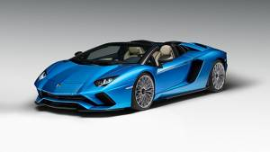 Lamborghini Aventador S Roadster unveiled: Produces 740PS and is drop-dead gorgeous
