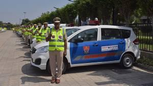 Maruti Suzuki donates 35 Ertiga and 7 Eeco cars to Haryana police
