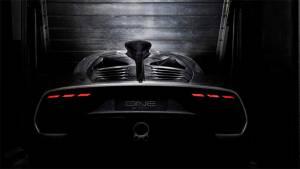 2017 Frankfurt Motor Show: Mercedes-AMG Project One rear design revealed!