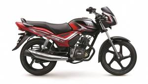 TVS Star City+ with dual-tone paint launched in India at Rs 50,534