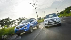 Comparison: Tata Nexon vs Maruti Suzuki Vitara Brezza