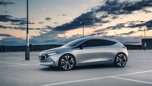 2017 Frankfurt Motor Show: Mercedes Benz Concept EQA comes to light