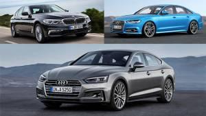 Spec comparo: Audi A5 Sportback vs Audi A6 vs BMW 520d