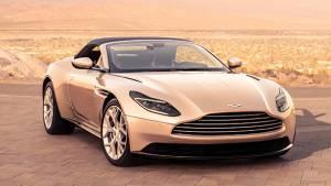 2018 Aston Martin DB 11 Volante, drop top gorgeous GT car is here!