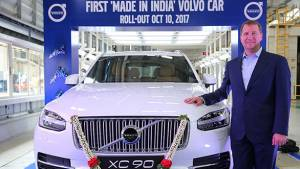 Volvo Cars rolls out first India-assembled XC90 from Bengaluru plant