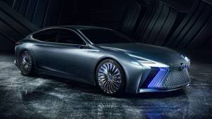 Tokyo Motor Show 2017: Lexus LS+ autonomous concept unveiled