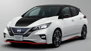 Tokyo motor show 2017: Nissan Leaf Nismo concept