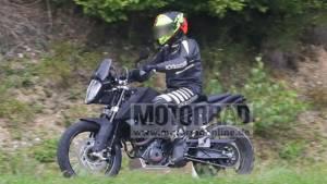 KTM 390 Adventure, 390 Scrambler spied testing