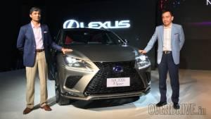 Lexus NX300h showcased in India