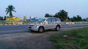 2018 Mahindra XUV500 facelift to be launched in April