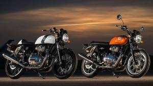 2018 Royal Enfield Interceptor 650 & Continental GT 650 I First look I EICMA 2017
