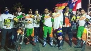 Team IndiMotard finishes 2017 SCORE Baja 1000!