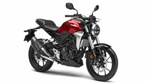 Honda patents the CB300R in India
