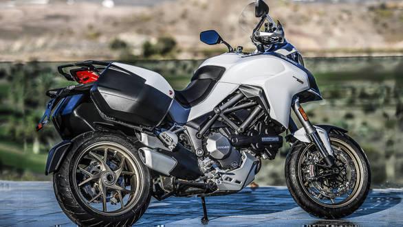 2018 Ducati Multistrada 1260 S Rear 3/4 detail