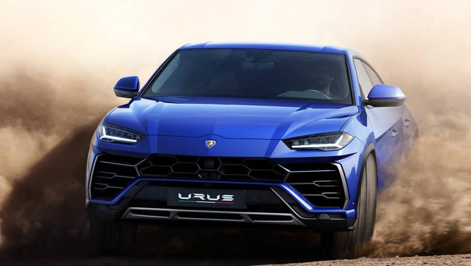 2018 Lamborghini Urus unveiled