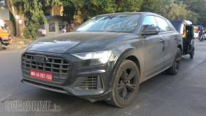 Spied: Audi Q8 spotted testing in India