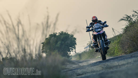 BMW R 1200 GS Rallye front action
