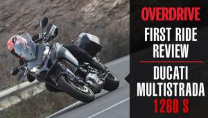 2018 Ducati Multistrada 1260 S detailed walkaround and first ride review