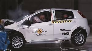 Euro NCAP Test: Fiat Punto scores the lowest at zero rating