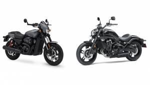 Spec comparo: Kawasaki Vulcan S vs Harley-Davidson Street Rod 750